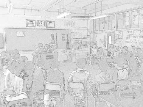 日本の教育を考える会合へ