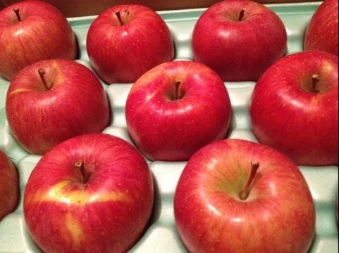 信州りんごをいただきました。