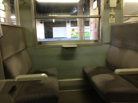 狭いボックスシート