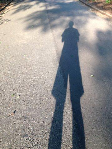 影を楽しむ