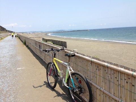 湘南海岸は最高のサイクリングロード