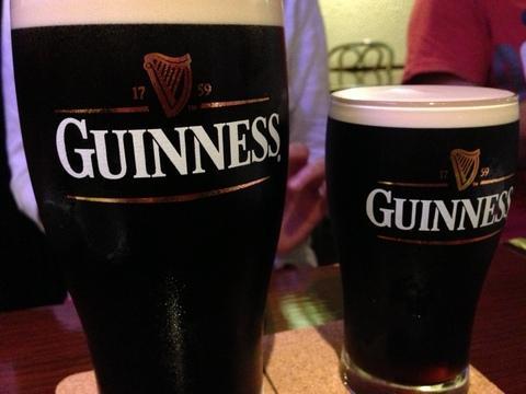 ギネスビールで乾杯!