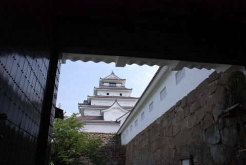 鶴ヶ城は美しい