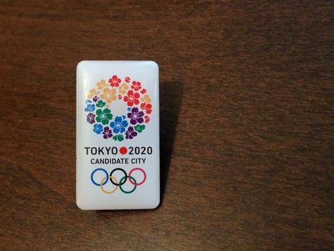 東京五輪2020招致バッジ