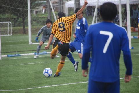 関東大学サッカーリーグ東海大学vs青山学院大学