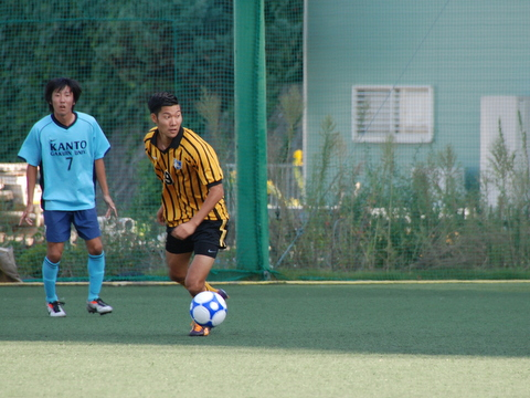 頑張れ東海大学サッカー部!