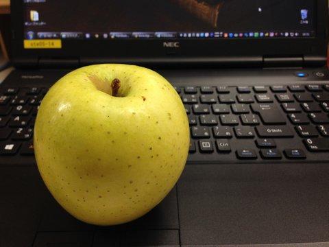 学期末に嬉しい津軽りんごとつながり