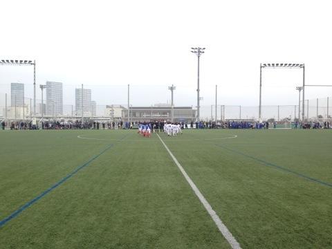 第40回県サッカー選手権中央大会低学年キックオフ