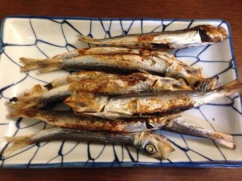【魚を食べよう】いわしの丸干しをいただく