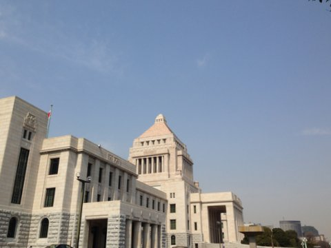 国会議事堂&NHKスタジオパークへ