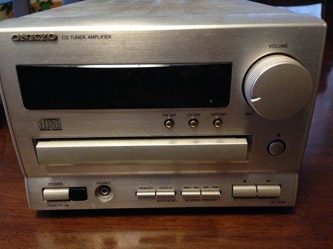 ONKYO CR -185 CD再生なるか?