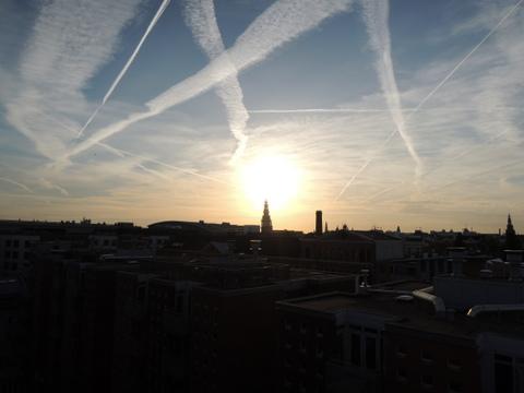 アムステルダムの空
