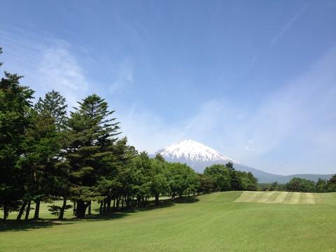 富士平原にて