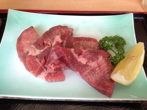 松島の牛タン