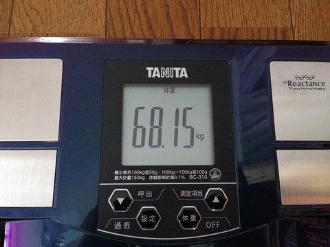 約15kg減である