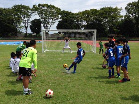 サッカーボールがつなぐ日韓友好