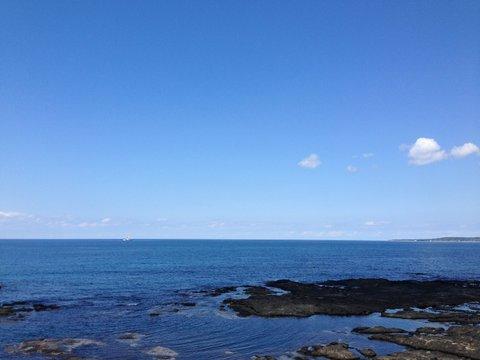 能登から日本海を望む