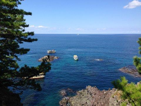 能登の海はきれいだ!