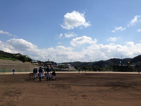 星陵高校野球場