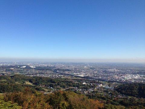 眺望の良さは天下一品の聖峰へ
