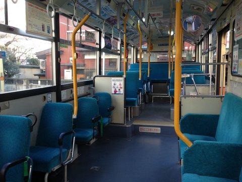 バス通勤ひとり旅