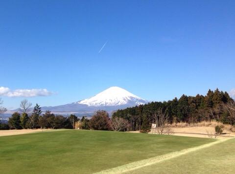 ギャッツビーから富士山を望む