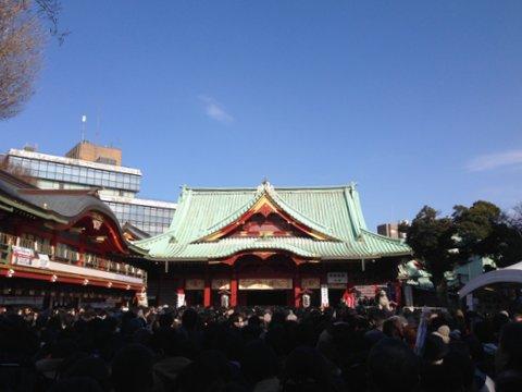 江戸の初詣は大賑わい