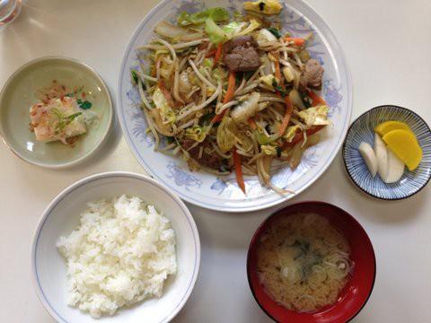 内村のレバー野菜定職