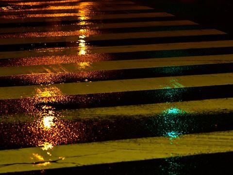 春雨が降る夜