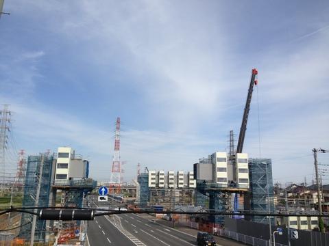 新東名高速道路建設中の現場から