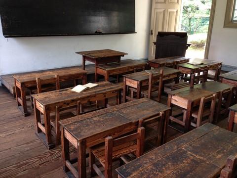 明治期の教室
