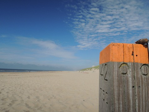 オランダの海辺