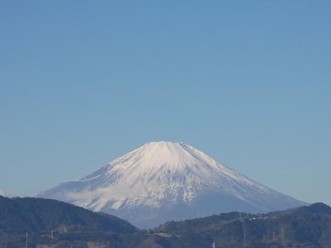 2016元旦の富士山