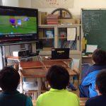 教室で動画を簡単に視聴できる時代