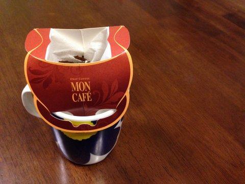 ドリップパックといえばMON CAFE