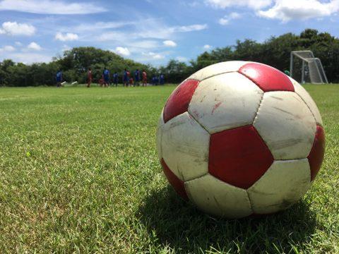 サッカーができる平和