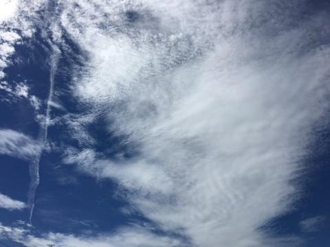 秋の空とポジティブ思考