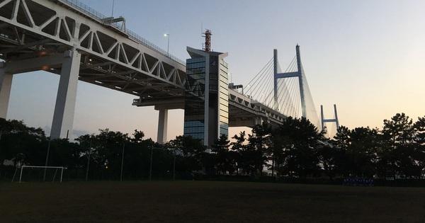 知ってた?横浜ベイブリッジの下に公園がある!