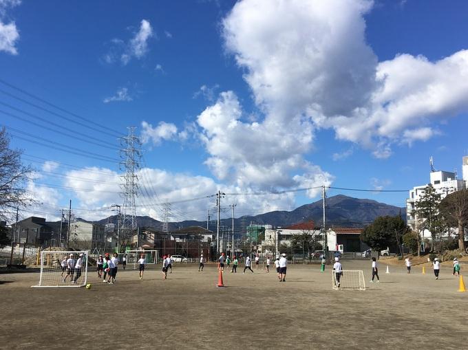 小学校体育サッカーのバリエーション