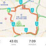 50で人生初の東京都心を走る【Detox Run】