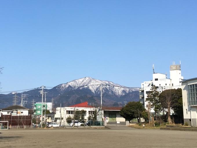 春を迎える大山へ