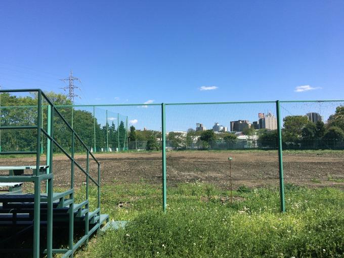 旧東電グランドの球場