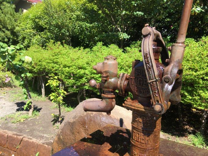 旧東電グランドの井戸