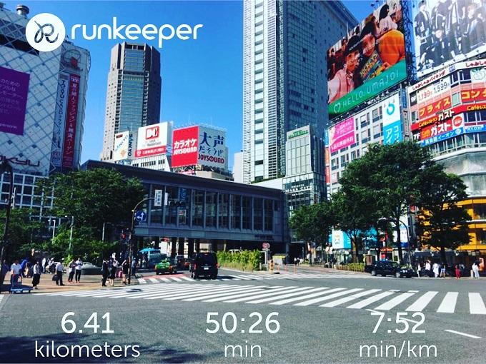 50歳のオヤジが渋谷を走った話【Detox Run】