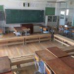 ベンチのある教室で流れる思考ツール