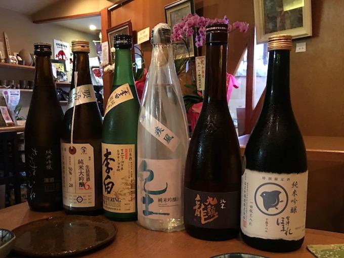美味しい日本酒を楽しむ(2017夏)
