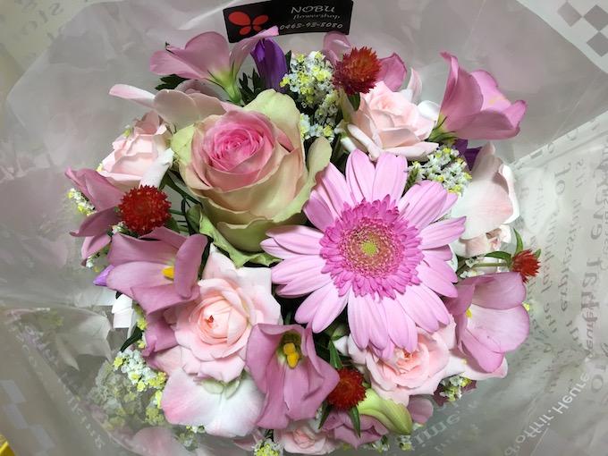 母に花を届けるということ。