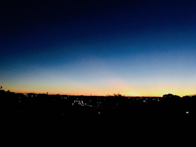 いつも新しい朝がやって来る!