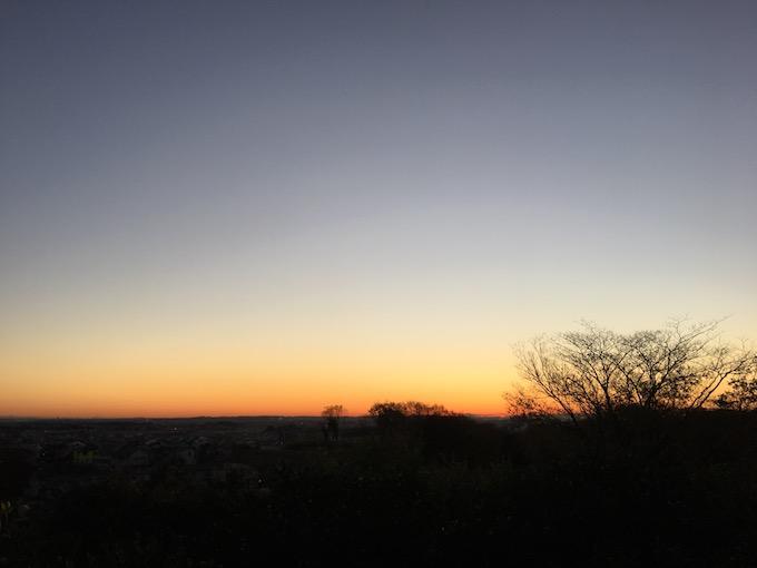 冬の朝は美しい