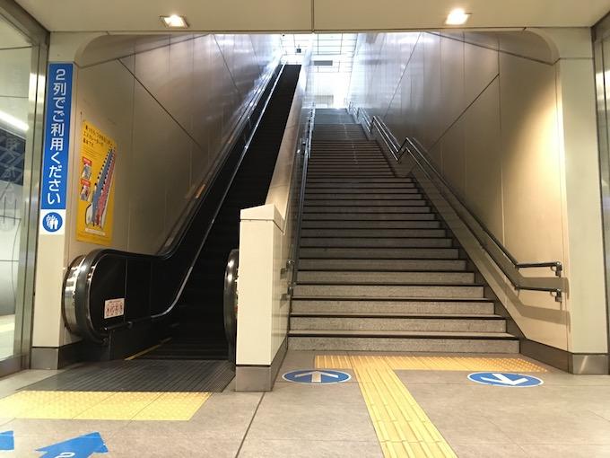 エスカレーターと階段、どっちを選ぶ?